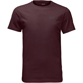 Jack Wolfskin Essential T-Shirt Heren, port wine
